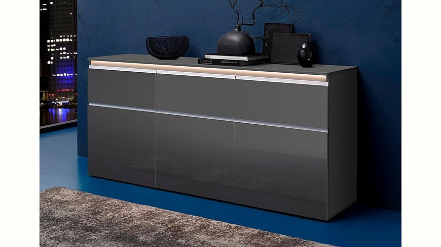 tecnos sideboard breite 180 cm m bel24. Black Bedroom Furniture Sets. Home Design Ideas