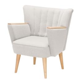 Sessel Bauro Webstoff - Weiß