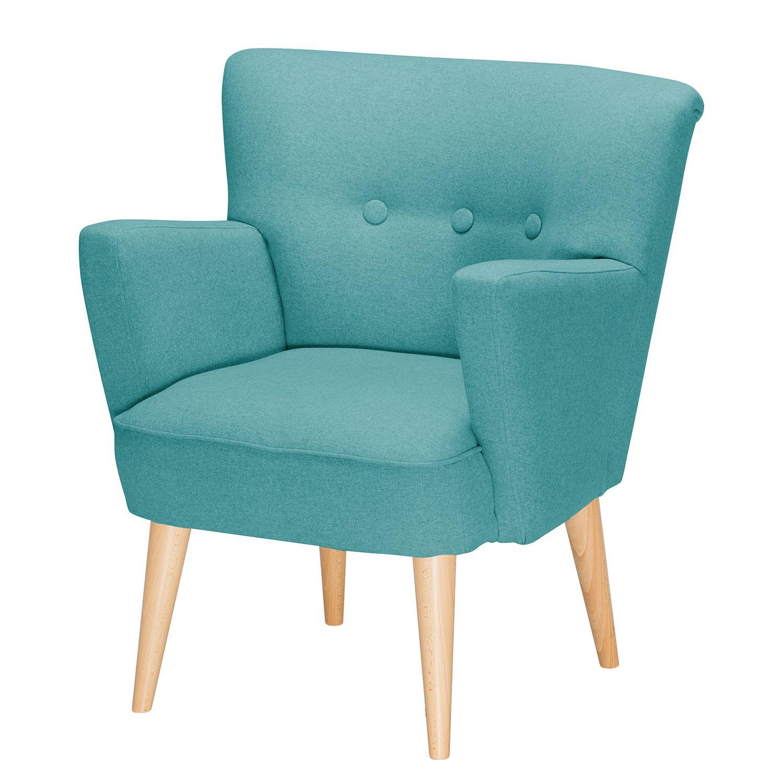 sessel bumberry ii filz t rkis m bel24. Black Bedroom Furniture Sets. Home Design Ideas