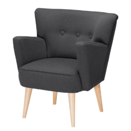 Sessel Bumberry Webstoff - Anthrazit