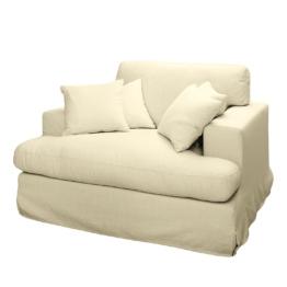 Sessel Mormès Webstoff - Cremeweiß