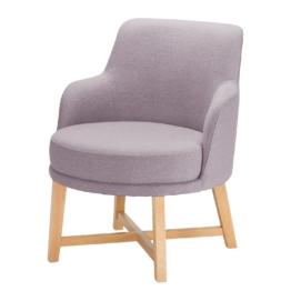 Sessel Siabu Strukturstoff - Flieder