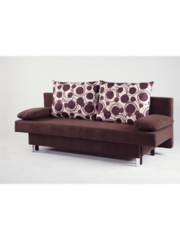 2 Sitzer Schlafsofa 191cm Cats Collection braun