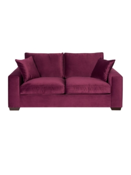 Schlafsofa, Samt, Purple miaVILLA purple