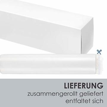 ArtLife Polsterbett Sevilla 140 x 200 cm - Bett mit Matratze, Lattenrost & LED – Holz & Kunstleder - grau – Jugendbett Gästebett Einzelbett - 6