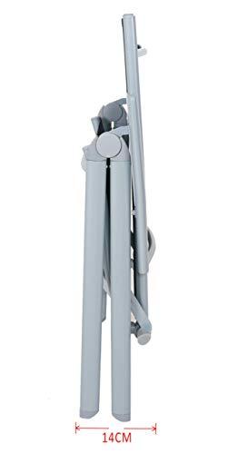 Chicreat Campingstuhl mit hoher Rückenlehne, Aluminium - Silber/Schwarz - 6