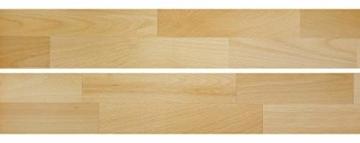 Erst-Holz® Buche-Bett Futonbett Einzelbett 90x200 Massivholzbett Natur Rollrost 60.84-09 - 4