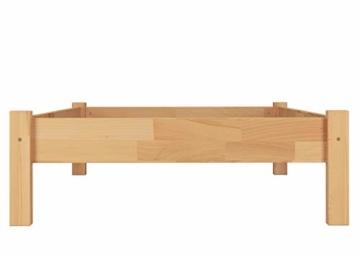 Erst-Holz® Buche-Bett Futonbett Einzelbett 90x200 Massivholzbett Natur Rollrost 60.84-09 - 8