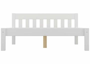 Erst-Holz® Doppelbett 160x200 Futonbett Ehebett weiß Kiefer Massivholzbett Rollrost 60.38-16 W - 6