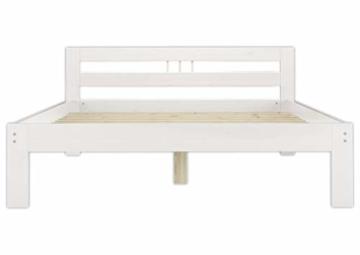 Erst-Holz® Massivholzbett weiß Kiefer Jugendbett 120x200 Einzelbett Futonbett mit Rollrost 60.64-12 W - 7