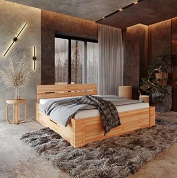Krok Wood Massivholzbett ELSA in Buche (Bett, 180 x 200 cm) - 1