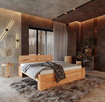 Krok Wood Massivholzbett ELSA in Buche (Bett, 180 x 200 cm) - 3