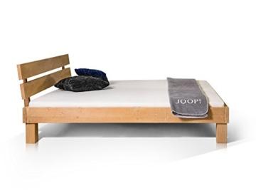 Massivholzbett Pumba Holzbett Doppelbett, Material Massivholz, Made in Germany, 180x200 cm, eichefarbig - 2