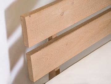 Massivholzbett Pumba Holzbett Doppelbett, Material Massivholz, Made in Germany, 180x200 cm, eichefarbig - 5