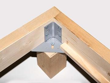 Massivholzbett Pumba Holzbett Doppelbett, Material Massivholz, Made in Germany, 180x200 cm, eichefarbig - 6
