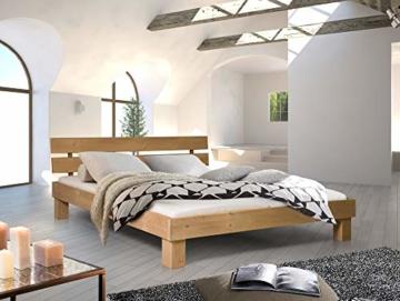 Massivholzbett Pumba Holzbett Doppelbett, Material Massivholz, Made in Germany, 180x200 cm, eichefarbig - 7