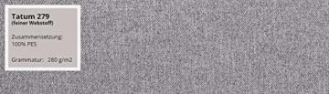 Sofa Viva II Lux mit Schlaffunktion, Bettsofa, 2 Sitzer Polstersofa mit Bettkasten inkl. Kissen, Schlafsofa Sofagarnitur, Wohnlandschaft, Farbauswahl (Tatum 279) - 6